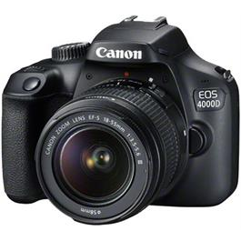 Canon EOS 4000D DSLR Body With EF-S 18-55mm III Lens Kit Thumbnail Image 2